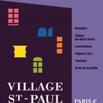 Le village Saint-Paul à Paris