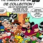 Frank Margerin et Nikita Mandryka dédicacent au Salon de la BD de collection à la Mairie de Paris 13