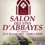 Salon des Vins d'Abbayes 2014 à Paris