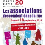 Forum des associations du 20e