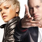 Pink en duo avec Eminem : Ecoutez 'Here Comes the Weekend'