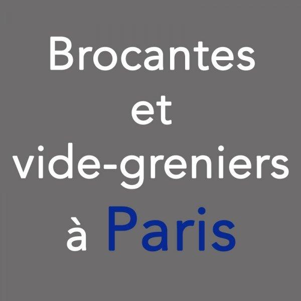 Calendrier Des Vide Greniers.Brocantes Et Vide Greniers A Paris Le Samedi 23 Et Le