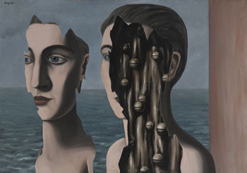 <small><small>René Magritte : Le double secret, 1927 © Centre Pompidou, mnam-cci / Dist. RMN-GP, Photo : G. Meguerditchian © Adagp, Paris 2015</small></small>
