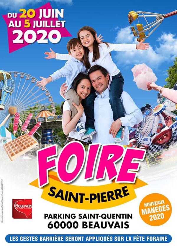 Calendrier Fete Foraine 2021 Fête Foraine de Beauvais 2021 : dates, horaires, programme, accès